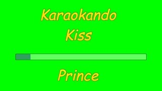 Karaoke Internazionale - Kiss - Prince ( Lyrics )