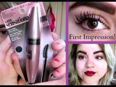 Maybelline Lash Sensational mascara (Demo   First Impression!) - YouTube 6129470b56f