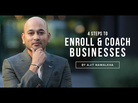 Ajit Nawalkha in a suit
