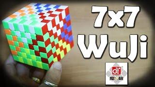 7x7 qiyi mofangge wuji el cubo del wr average