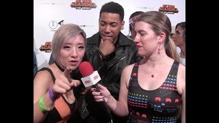 Interview With Stella Chu & Kevin Mimms At The My Hero Academia: Two Heroes Red Carpet