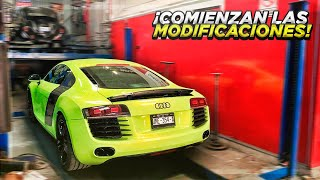 COMIENZAN LAS MODIFICACIONES A MI AUDI R8 *Hangar1* | ManuelRivera11