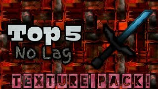 TOP 5 PVP TEXTURE PACK #2 | MCPE & W10 (1.2 & 1.1.5) FOR iOS & Android!