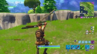 Fortnite bataille royale solo essayer d'obtenir une victoire en direct partie 3