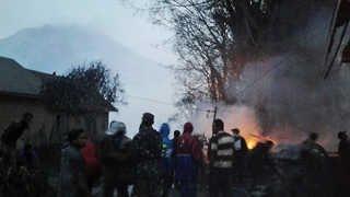 또 '불의 고리'…인도네시아 시나붕 화산 폭발