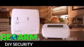 dsc alexor alarm system installation video