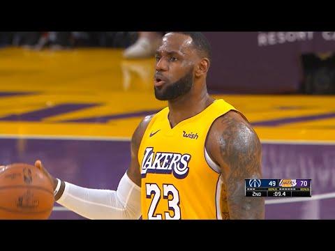 Los Angeles Lakers vs Washington Wizards 1st Half Highlights | November 29, 2019-20 NBA Season
