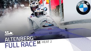Altenberg | BMW IBSF World Cup 2017/2018 - 2-Man Bobsleigh Heat 2 | IBSF Official