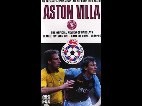 Aston Villa Season Review 1989 - 1990