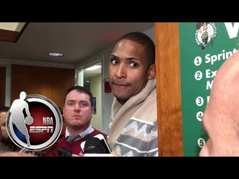 Al Horford reacts to Celtics win over Warriors, talks solid defense | NBA on ESPN