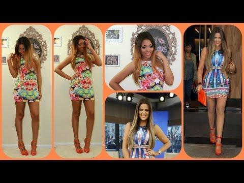 {Fab Frugalista} Khloe Kardashian Inspired Look4Less +Rpgshow Wig