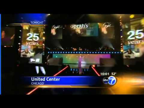 Oprah tapes star-studded final shows at United Center   Video   abc7chicago.com