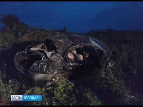 В ДТП в Гаврилов-Ямском районе один человек погиб и один пострадал