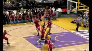 NBA 2K9 PC gameplay