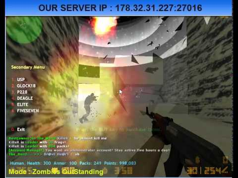 Best counter strike server zombies outstanding youtube.