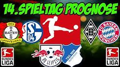 14.Spieltag 1.Bundesliga Prognose + Tipps / Richtungsweisender Spieltag / BMG vs.FCB + LEV vs. S04