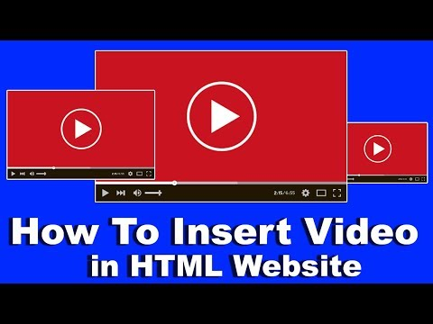 21. How To Insert Video In HTML Website, Video Tag In HTML, Html Me Video Kaise Lagaye Cyber Warrior
