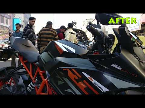 KTM RC 390 Custom Graphics Modified 2018