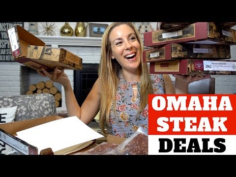 Omaha Steaks Review 2018: Food Deals Unboxing
