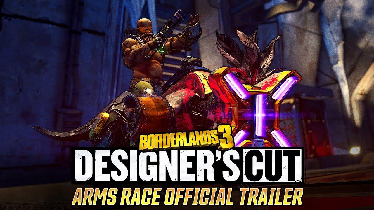Borderlands 3: Designer's Cut - Arms Race Official Trailer