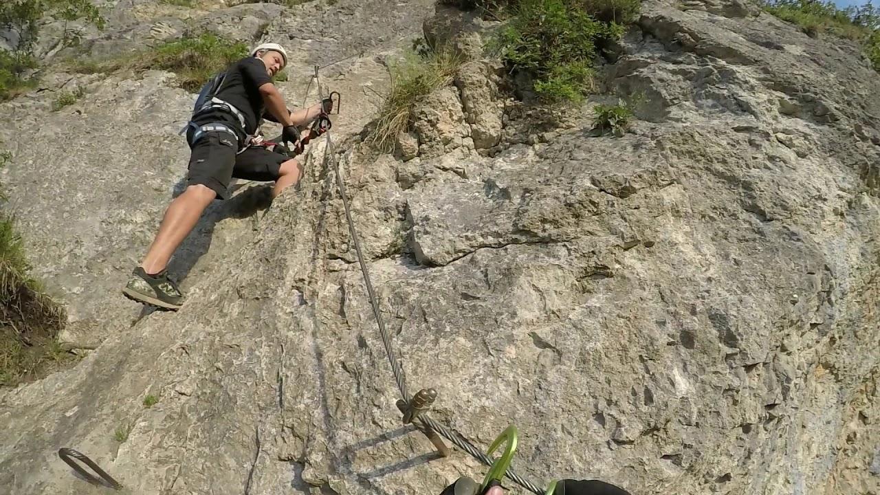 Klettersteig Quebec : Klettersteig via kessi kapf götzis youtube