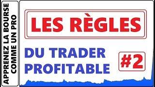 LA RÈGLE A SUIVRE #2 DU TRADER PROFITABLE A LA BOURSE. CONFIGURATION GRAPHIQUE GAGNANTE