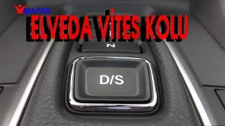 Elveda vites kolu - civic dizel otomatik-The electronic gear selector
