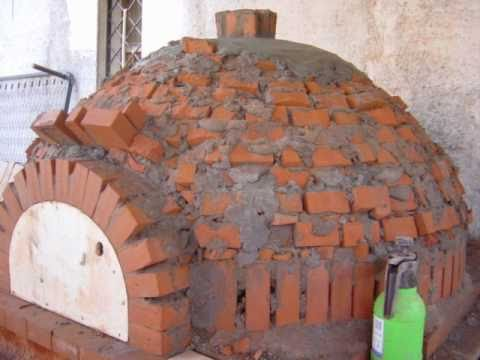 Costruire un forno a legna artigianale massimilianocervo for Forno a legna in mattoni refrattari