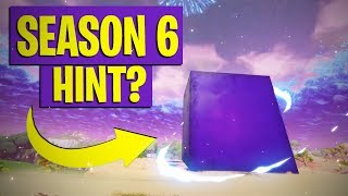 FORTNITE SEASON 6 LEAKED CUBE? + TOMATO TEMPLE
