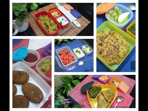 Tiffin Recipes /  Lunch Box Recipe / Working Couple/ Bachelors Lunch Box Ideas