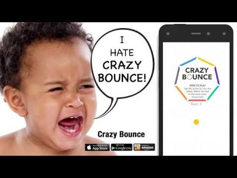 Crazy Bounce! for iPhone, Amazon Kindle, and Google Play