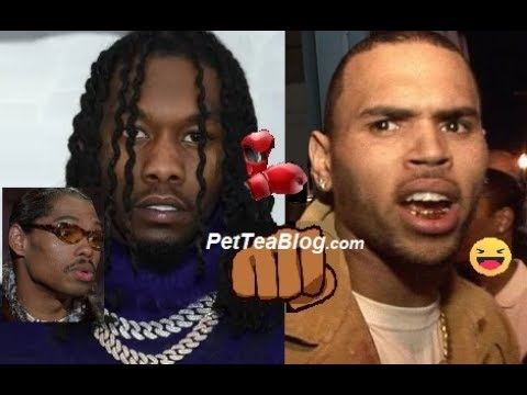 Offset said He Gonna SMACK Chris Brown On Sight, gets Clowne