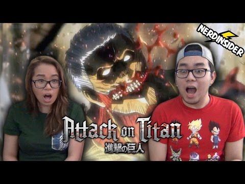 ATTACK ON TITAN 33 Season 2 Episode 8 The Hunters REACTION & REVIEW