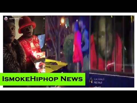 Gucci mane Artist Ralo ARRESTED on His Birthday..POLICE hating on Lamborghini..Jinx His self