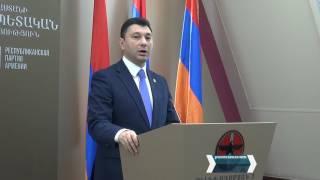 ՀՀԿ համամասնական ցուցակը գլխավորելու է Պաշտպանության նախարար Վիգեն Սարգսյանը
