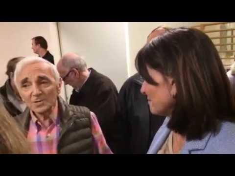 Nathalie Goulet et Charles Aznavour - La Yiddishe Mama