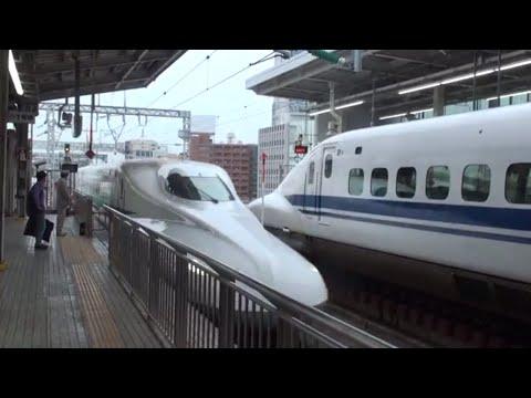 【FHD全区間鉄道車窓】東海道新幹線 のぞみ112号東京行 新大阪→東京 Japan Train View Tokaido-Shinkansen Super Express NOZOMI