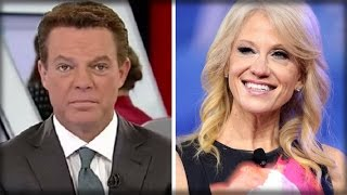 SHEPARD SMITH IS OVER! HE SHOULD BE FIRED AFTER THE EVIL THING HE SAID ABOUT KELLYANNE CONWAY!!!