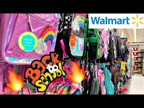 WALMART BACK TO SCHOOL SHOPPING *BACKPACKS*