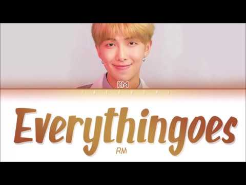 RM (BTS) - everythingoes (지나가) (with NELL) (Lyrics Eng