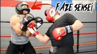 Sparring FaZe Sensei! *FULL SPARRING FOOTAGE*