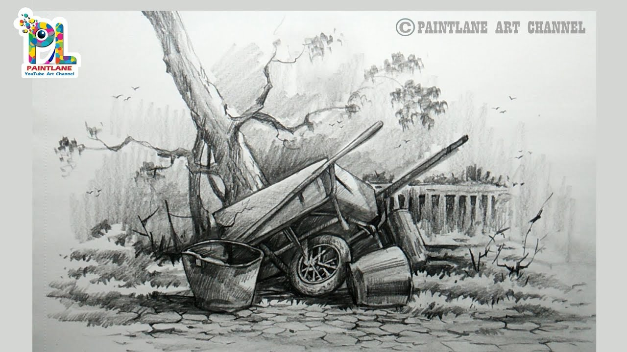 Learn Drawing and Shading with Composition Sketching ...
