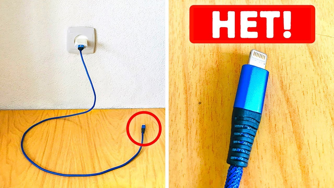 Не нужно оставлять подключенную к сети зарядку без заряжающегося устройства, и вот почему