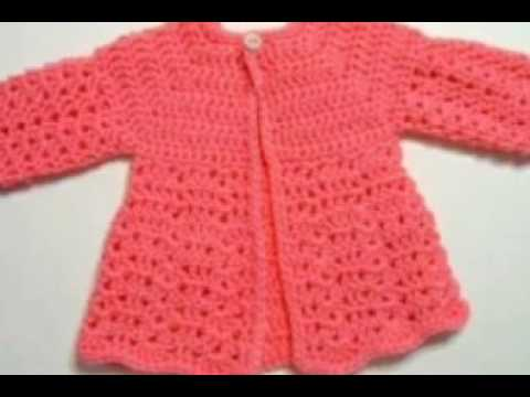 Knitting Jacket For Girl : One colour baby girl sweater designs beautiful design for kids