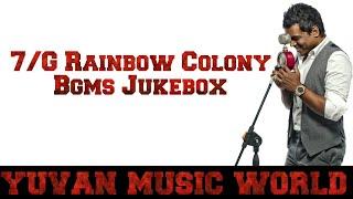 7/G Rainbow Colony Bgms Jukebox | Yuvan Shankar Raja