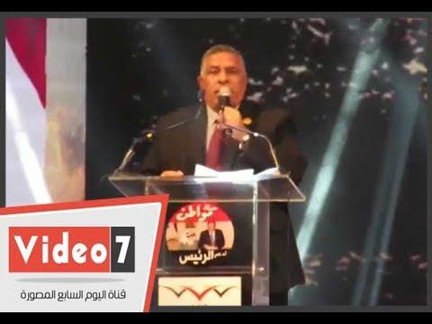 نائب رئيس اتحاد عمال مصر: باسم 30 مليون عامل نعلن مبايعة الرئيس السيسى  - 21:22-2018 / 1 / 19