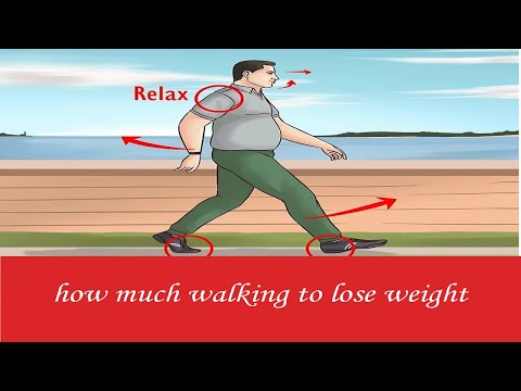 Just How Much Walking to shed weight