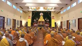 Công Phu Khuya - Trường Hạ Chùa Điều Ngự P1- PL 2562 - DL 2018
