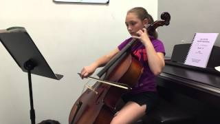 Gavotte by Lully on Cello