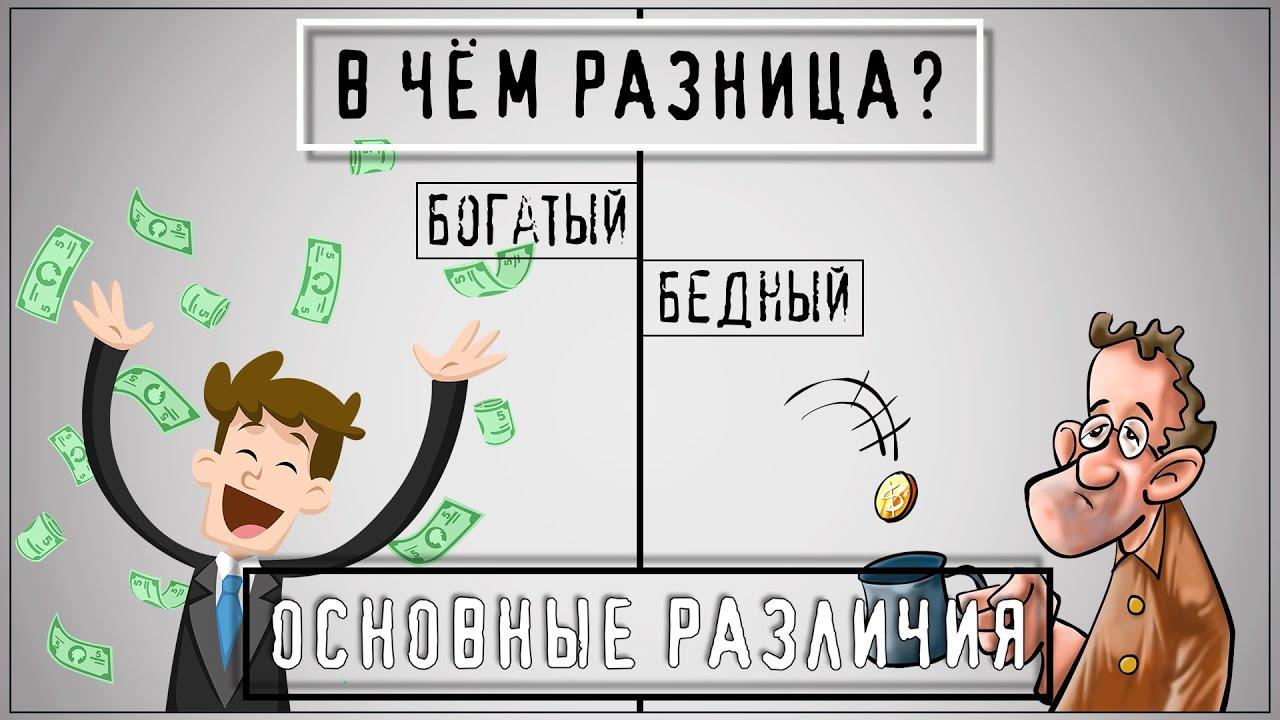Что Мешает Тебе СТАТЬ БОГАТЫМ? Психология Бедности. Мышление БОГАТОГО и БЕДНОГО Человека